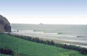 Centinela Beach - Surfing Beaches in Peru
