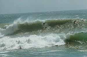 Panic point beach surfing beaches in peru