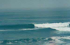 Playa El Pe�ascal  - Surfing en Per�